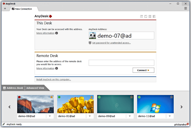 Download AnyDesk For Pc