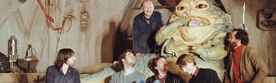 jabba hutt set photo from jedi