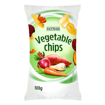 Chips vegetales Hacendado