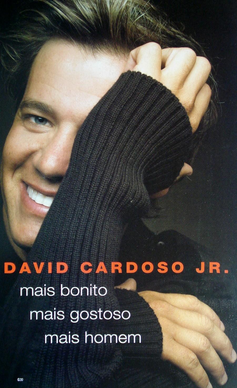 David Cardoso Jr Pelado Pau Duro Rolão Peludo