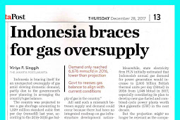 Indonesia braces for gas oversupply