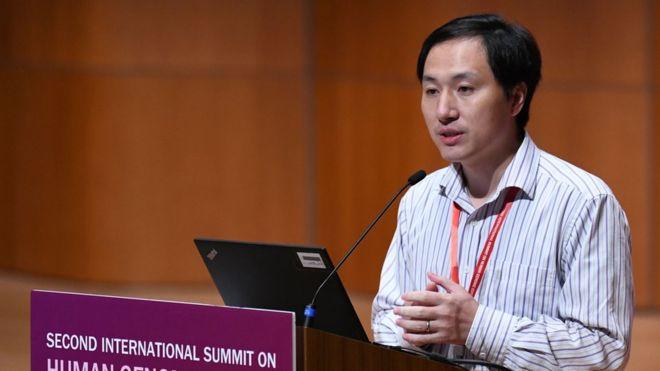 Dr He Jiankui