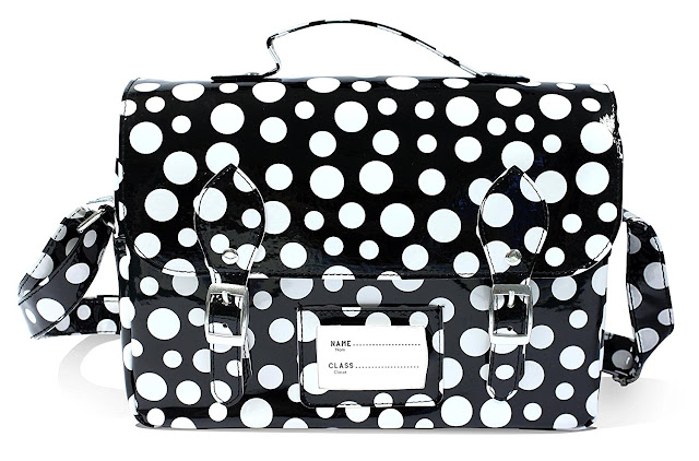 Spearmark Polka Dot Lunch Bag