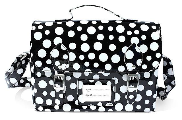 Spearmark Polka Dot Lunch Bag