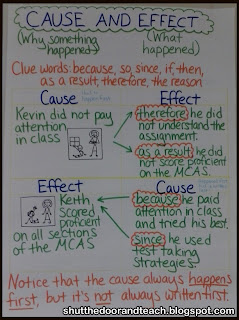 Shut the Door and Teach: Teaching Cause and Effect
