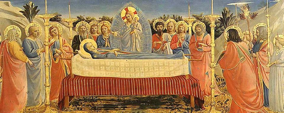 Dormição de Nossa Senhora, Fra Angélico (1395 – 1455)