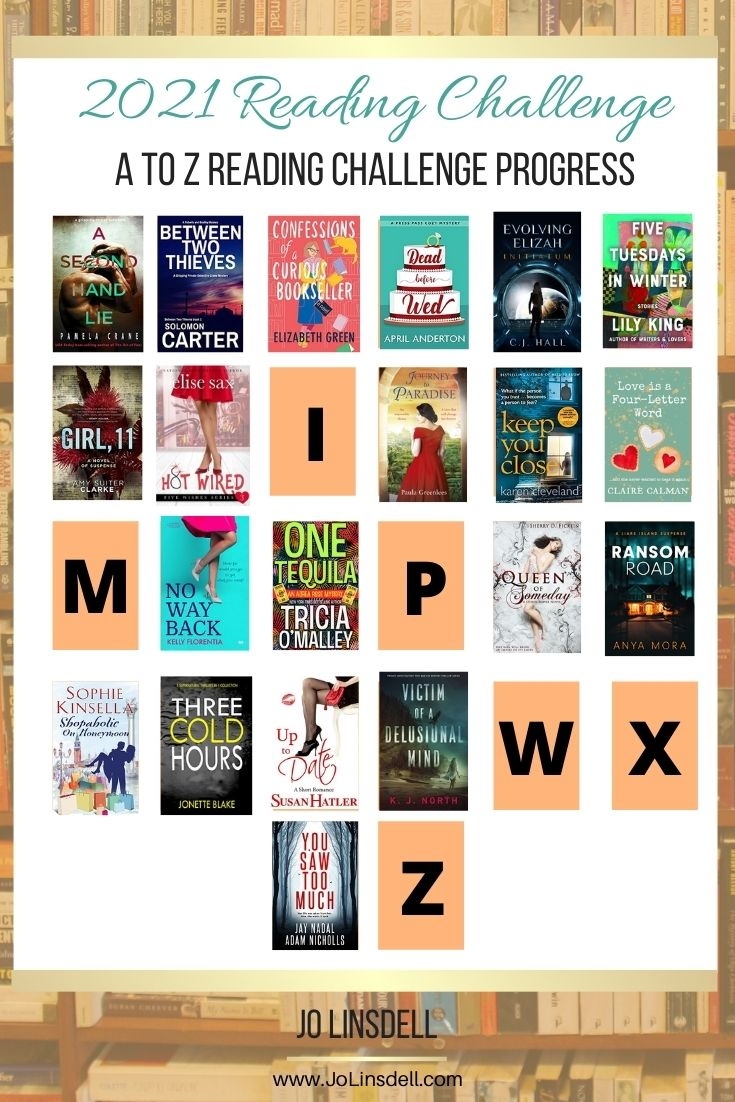 The A to Z Reading Challenge June Update