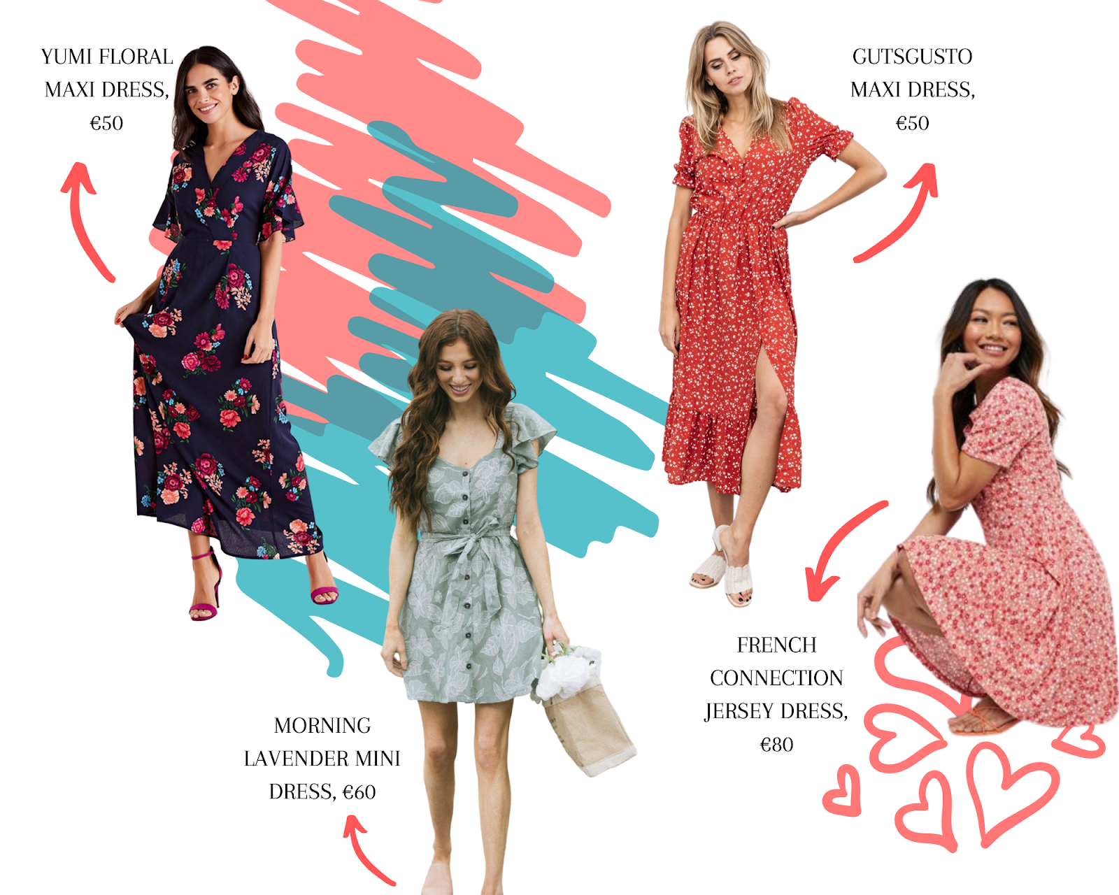 best floral summer dresses under €100