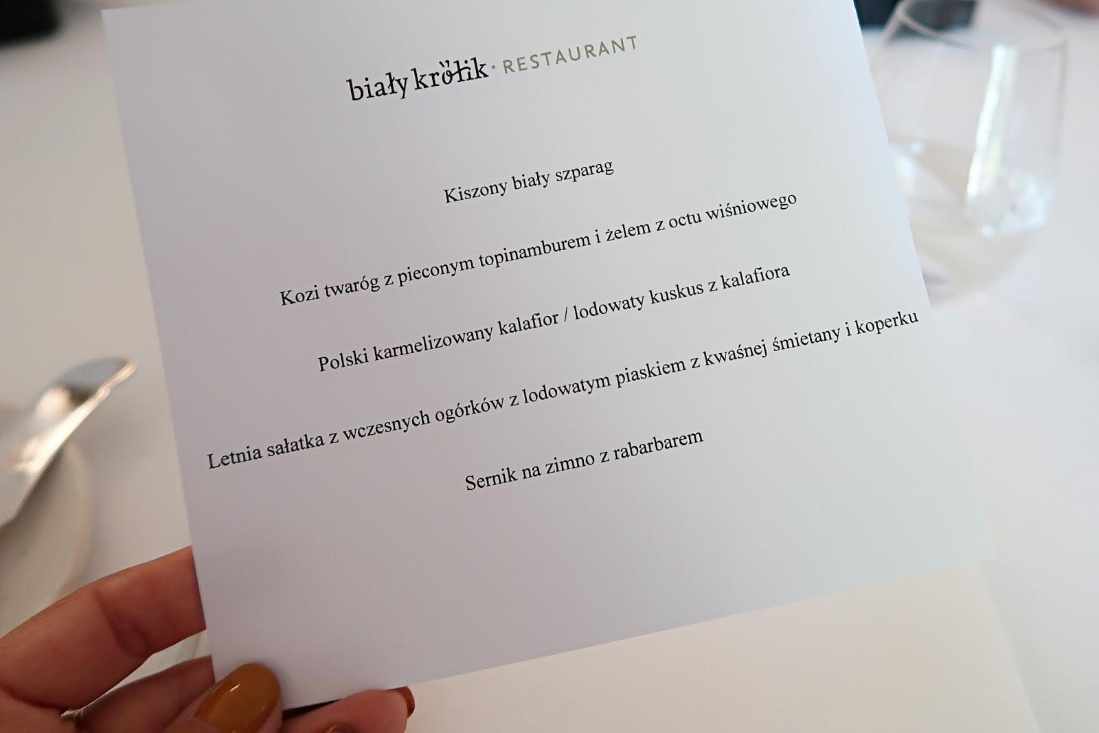 Restauracja Biały Królik