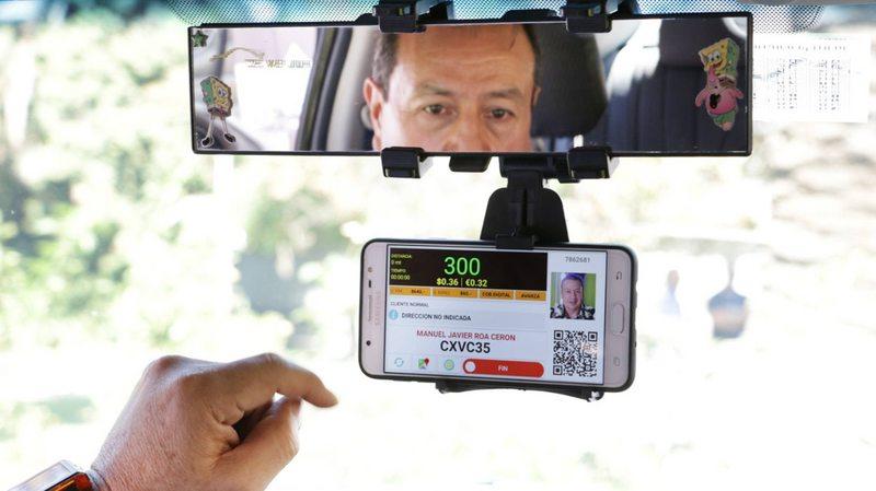 app que informa el precio del viaje al subirse a un taxi