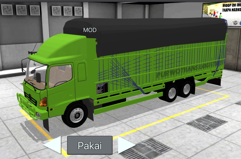 mod bus simulator indonesia - truck hino