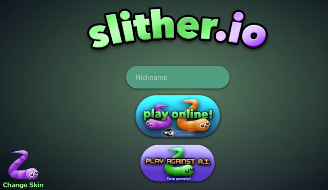 Game Slither.io