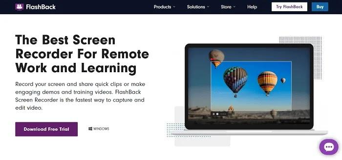 FlashBack - Camtasia Alternatives Screen Recorders