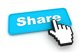 add share buttons within blogger blog posts