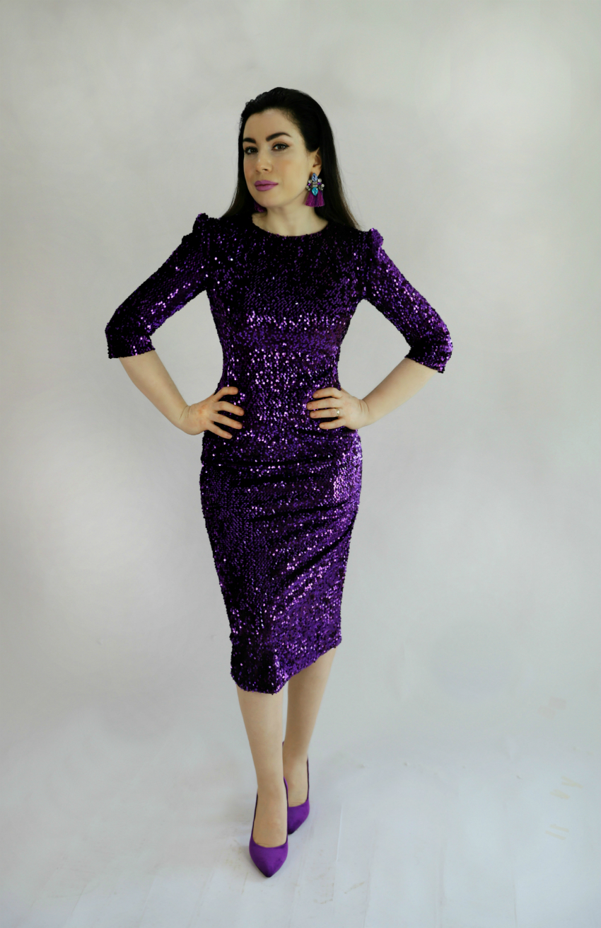 dikiş-elbiseler-dikiş blogu-payetli elbise-kalem etek elbise dikimi