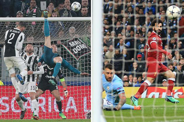 Champions League: Salah beats Ronaldo to win Best Goal