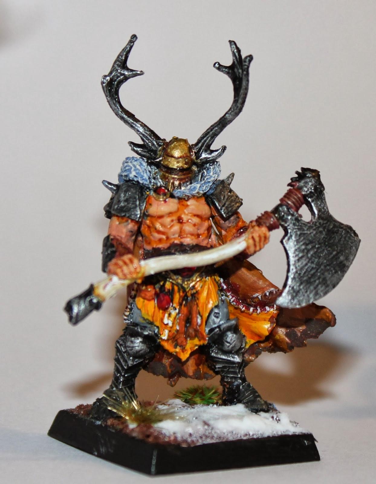 Warhammer Fantasy Battle - Warriors of Chaos