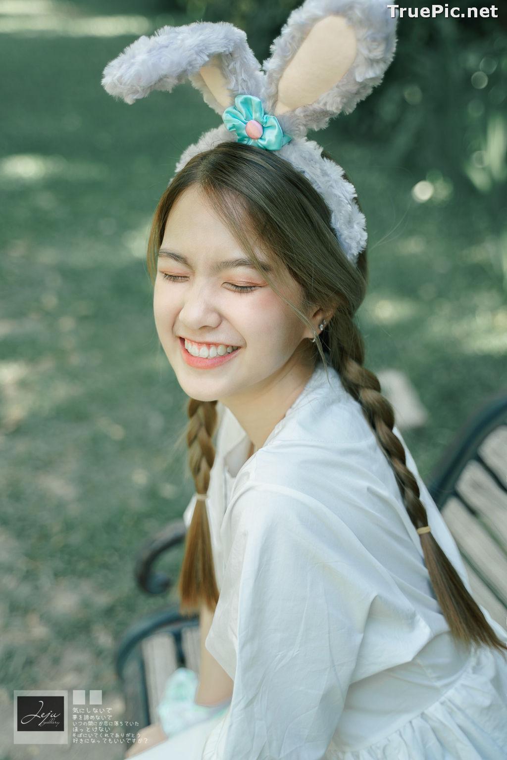 Image Thailand Cute Model - Napat Cdhg - Gam Bunny Girl - TruePic.net - Picture-4