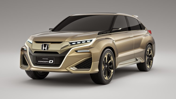 This Car Will Be Luxury SUV Honda - OTONEWS