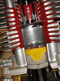 Moto Guzzi Small Block Heron Head