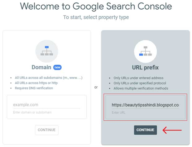 blog ko google search console me kaise add kare
