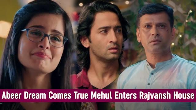 Future Story : Abeer-Mishti and Kunal-Kuhu's big Drama in Rajvansh family on Navrati  in YRHPK