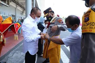 Tiba di Bandara Kualanamu, Irjen Pol Panca Putra Disambut Forkopimda Sumut