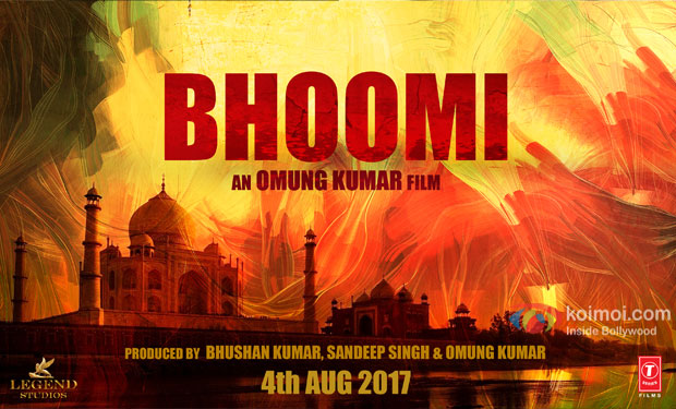 Sanjay Dutt, Sayyeshaa Saigal upcoming 2017 Bollywood film Bhoomi Wiki, Poster, Release date, Songs list wikipedia