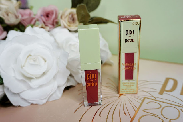 Pixi Beauty MatteLast Liquid Lip in shade Berry Boost