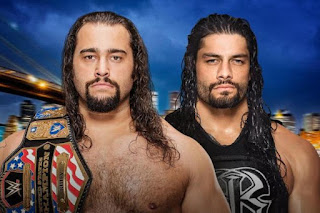 Rusev Roman Reigns SummerSlam United States Championship