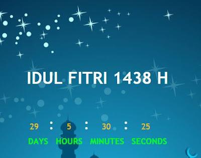 Cara Membuat Countdown Timer Di Blog - JOKAM INFORMATIKA