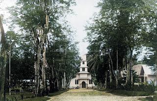 gereja dari rhine mission di gunungsitoli nias