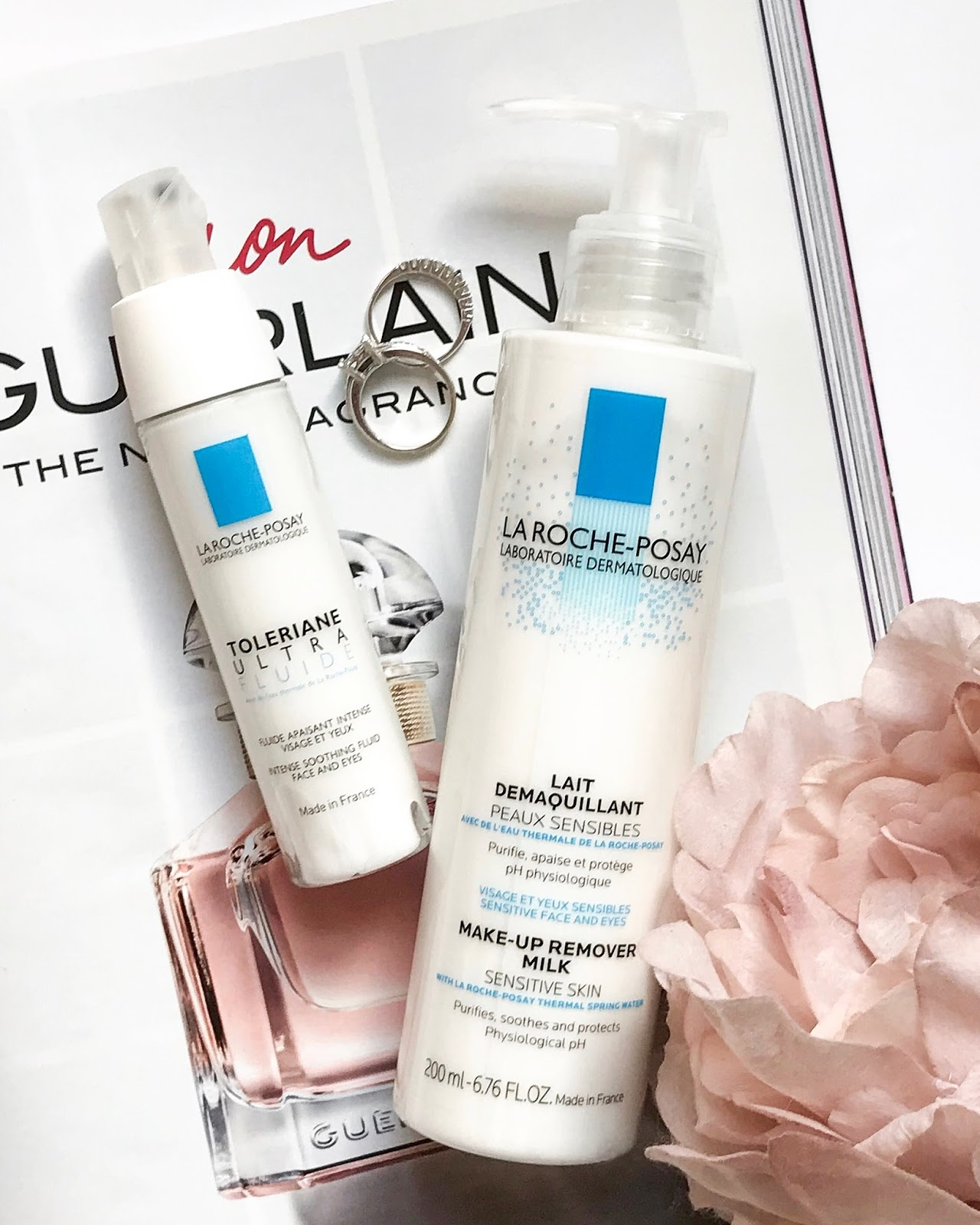 la roche posay skincare review blog post