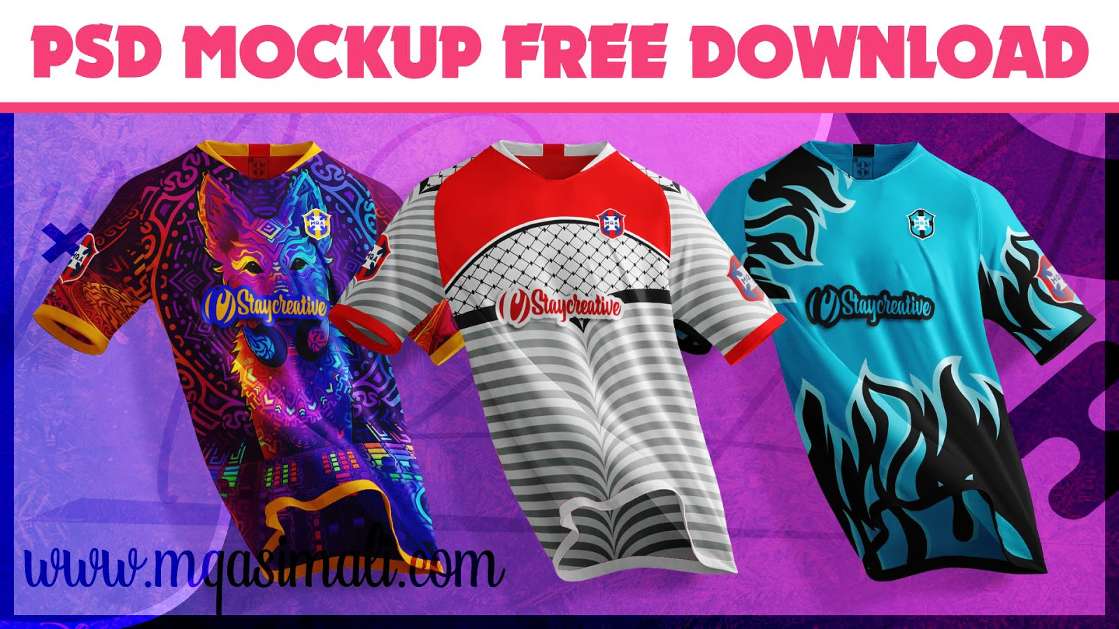 Download Soccer Jersey Mockup_Football Shirt PSD Mockup Free ...