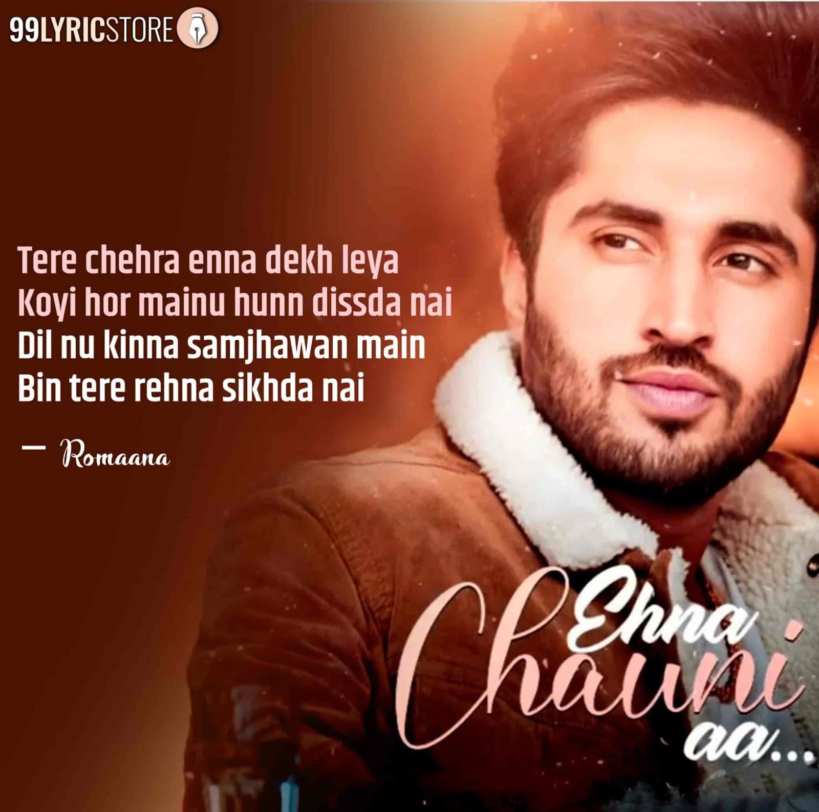 Ehna Chauni Aa Punjabi Song Image By Jassie Gill