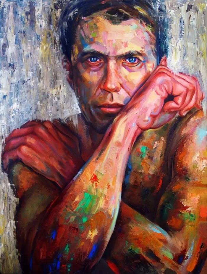 Красочные портреты