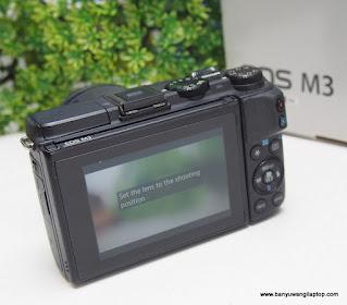Jual Kamera Canon EOS M3 Banyuwangi