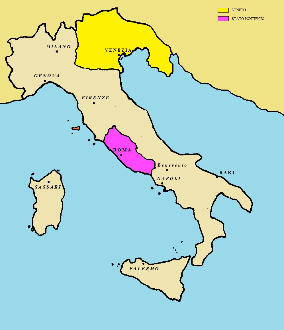 Cartina Italia Unita 1861.Le Guerre D Indipendenza Lessons Blendspace