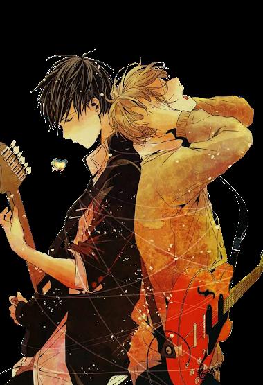 Render Uenoyama and Mafuyu [Given] by StelaScarlett
