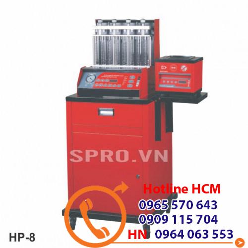 máy súc béc rửa kim phun ô tô bằng sóng siêu âm Alphaplus HP-8