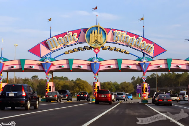 Entrada do Magic Kingdom