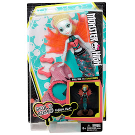 MH Transforming Ghouls Lagoona Blue Doll
