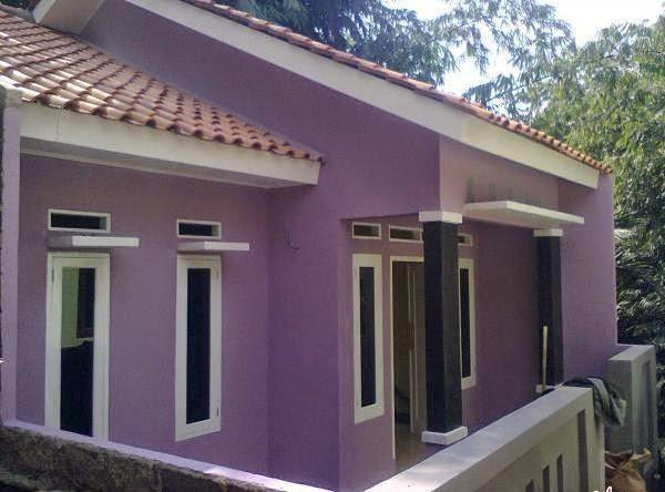 550+ Gambar Rumah Dengan Cat Warna Ungu HD Terbaik