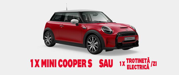 Concurs KFC CEVA CU ROTI - Castiga o masina Mini Cooper S - 2021 - promotie - castiga.net
