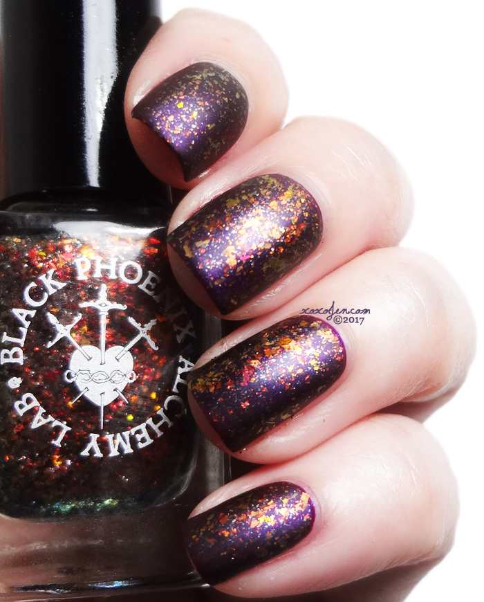 xoxoJen's swatch of Black Phoenix Alchemy Lab Czernobog