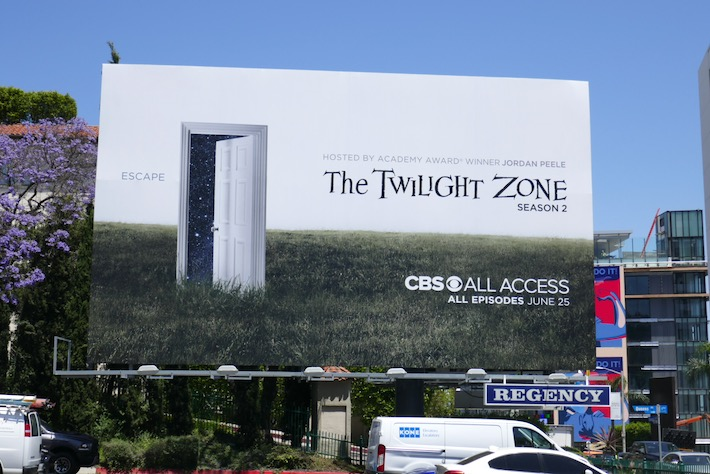 Twilight Zone season 2 billboard