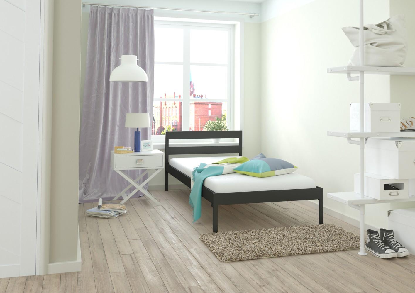 łóżko metalowe Lak System wzór 44 (80-120 cm)