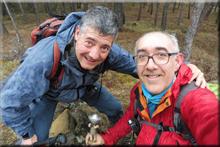 Igaitz mendiaren gailurra 673 m. -- 2017ko abenduaren 10an