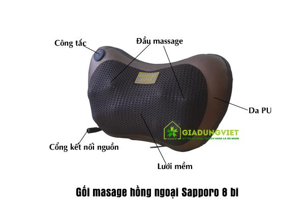 Hiệu quả trong việc giảm đau vai gáy của gối massage asano