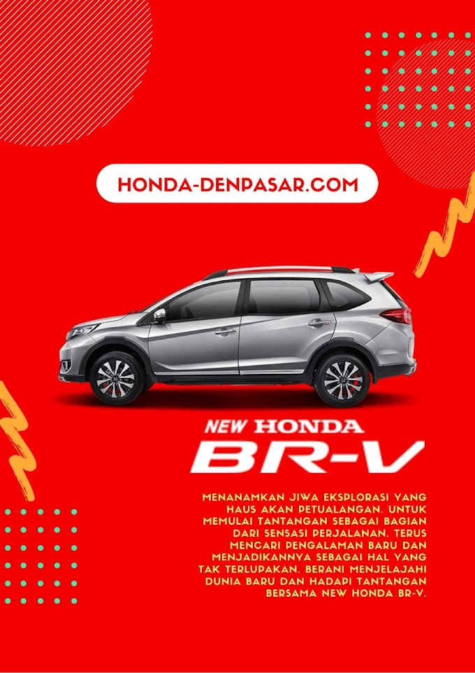 Promo Honda BRV Bali